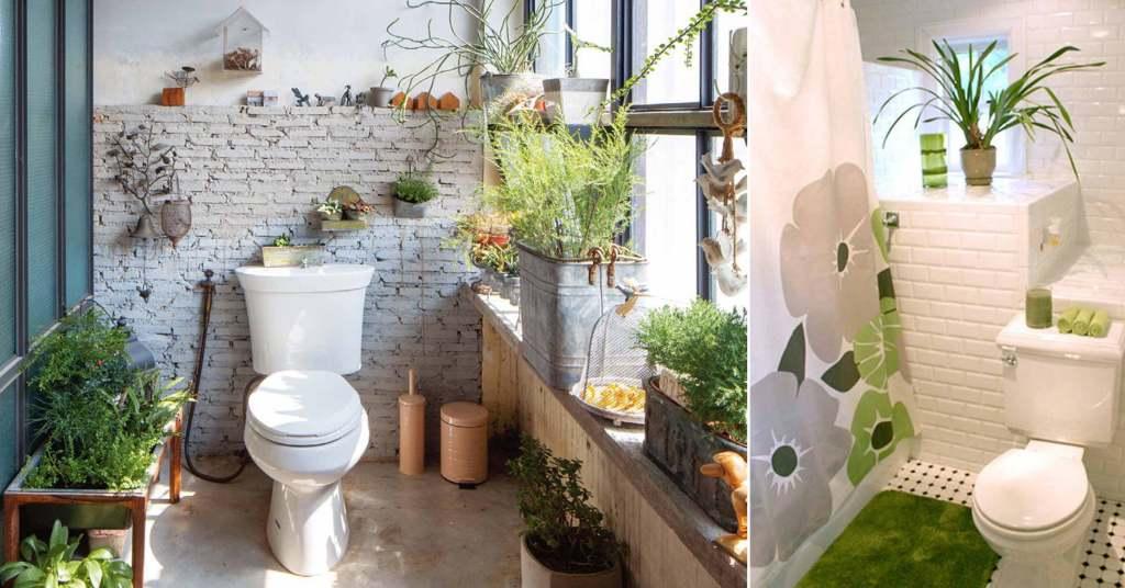 อยากจัดสวนในห้องน้ำแต่ไม่รู้จะเริ่มยังไงดี