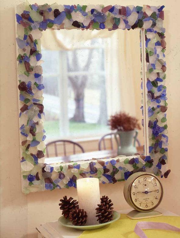 รวมไอเดีย DIY กรอบกระจกให้เก๋ ดูดี  รูปที่ 6