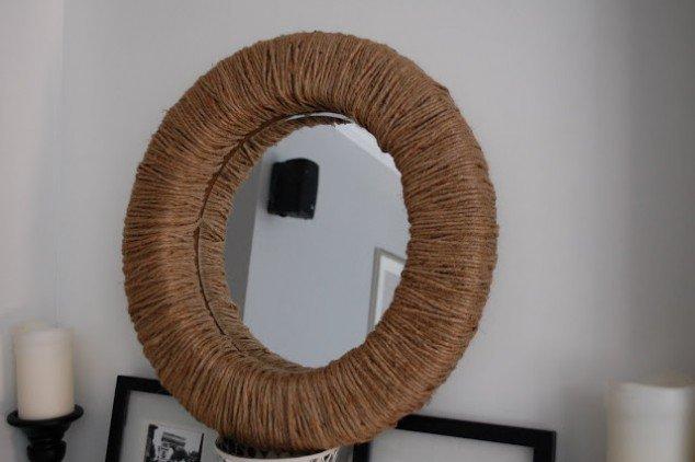 รวมไอเดีย DIY กรอบกระจกให้เก๋ ดูดี  รูปที่ 7