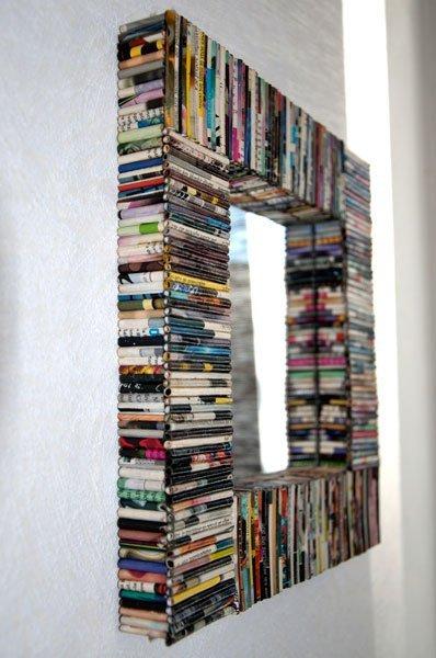 รวมไอเดีย DIY กรอบกระจกให้เก๋ ดูดี  รูปที่ 8