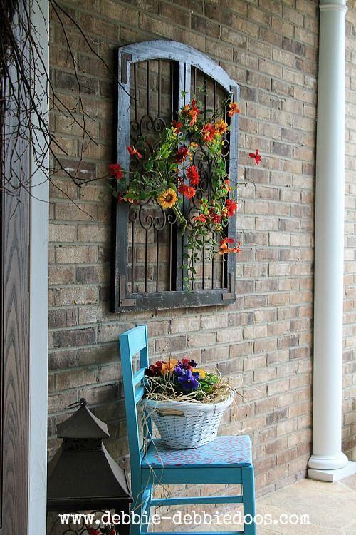 เพิ่มความคลาสสิกให้สวนสวยด้วยบานประตูไม้เก่า รูปที่ 4