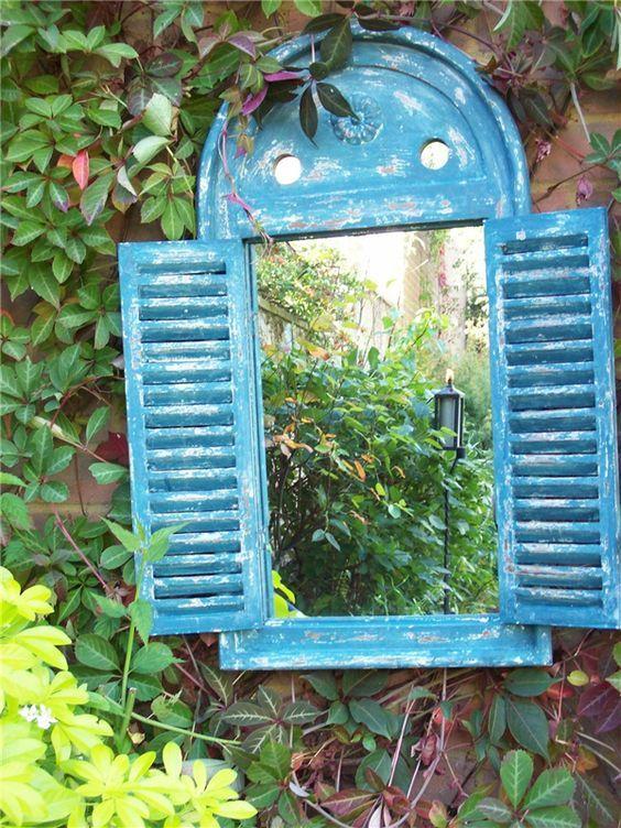 เพิ่มความคลาสสิกให้สวนสวยด้วยบานประตูไม้เก่า รูปที่ 9