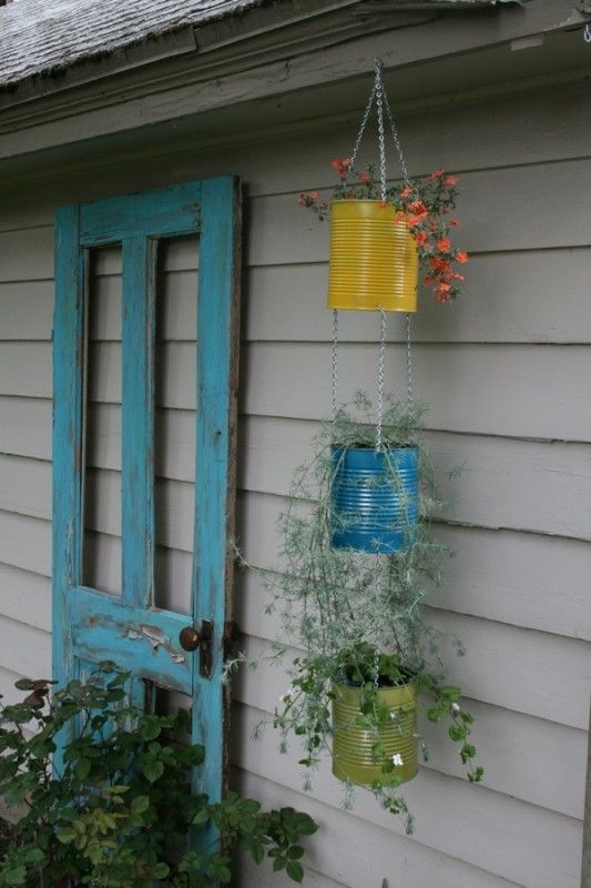 เพิ่มความคลาสสิกให้สวนสวยด้วยบานประตูไม้เก่า รูปที่ 16