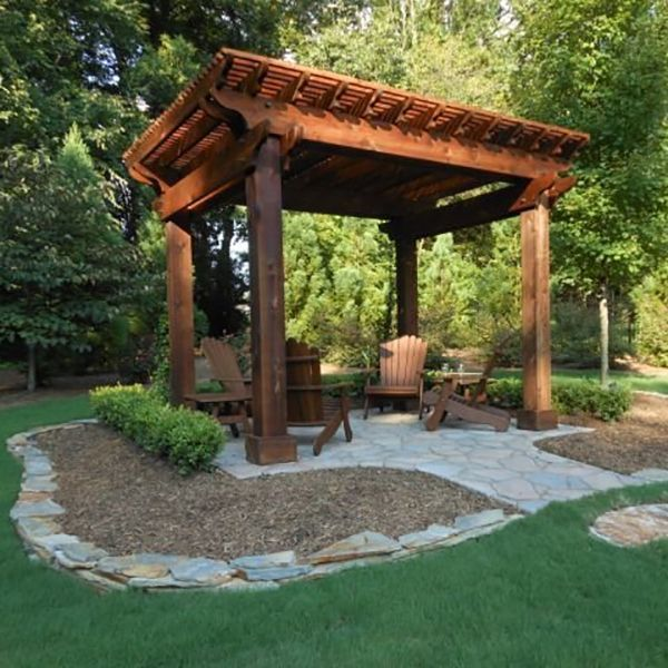 15 ไอเดียซุ้มระแนงไม้เพิ่มความสวยงามให้สวนในบ้าน รูปที่ 2