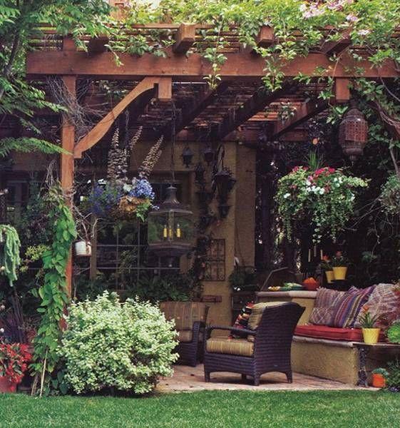 15 ไอเดียซุ้มระแนงไม้เพิ่มความสวยงามให้สวนในบ้าน รูปที่ 5