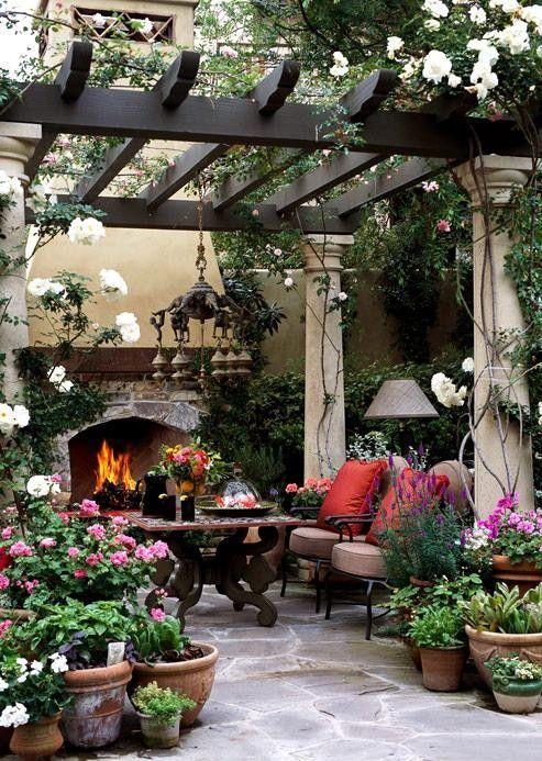 15 ไอเดียซุ้มระแนงไม้เพิ่มความสวยงามให้สวนในบ้าน รูปที่ 6