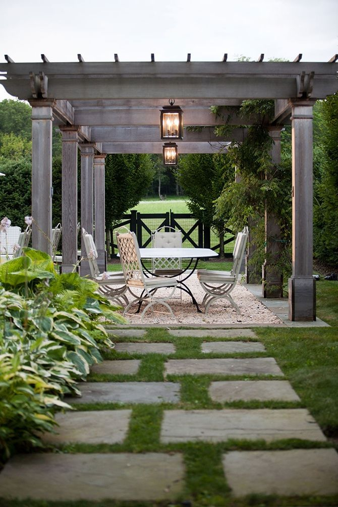 15 ไอเดียซุ้มระแนงไม้เพิ่มความสวยงามให้สวนในบ้าน รูปที่ 7