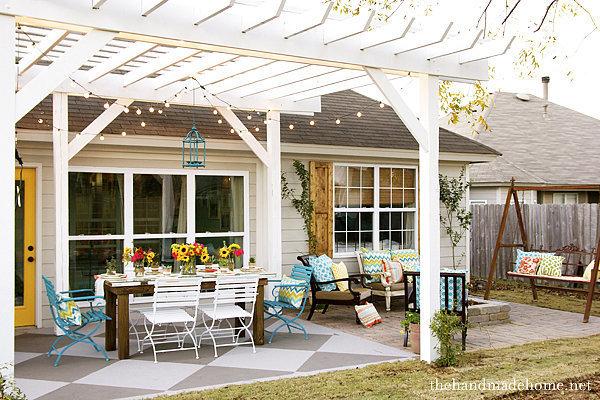 15 ไอเดียซุ้มระแนงไม้เพิ่มความสวยงามให้สวนในบ้าน รูปที่ 10