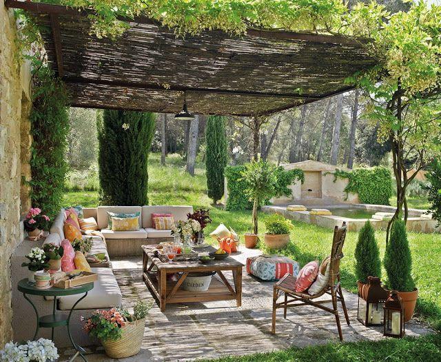 15 ไอเดียซุ้มระแนงไม้เพิ่มความสวยงามให้สวนในบ้าน รูปที่ 14