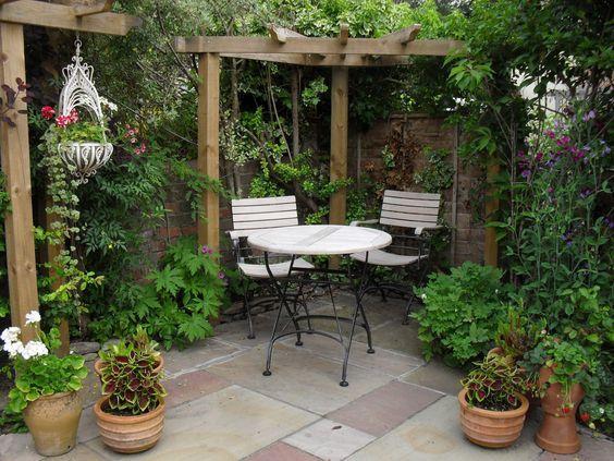 15 ไอเดียซุ้มระแนงไม้เพิ่มความสวยงามให้สวนในบ้าน รูปที่ 15