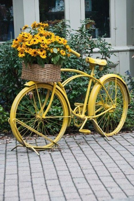 แปลงร่างจักรยานเก่าให้เป็นที่ปลูกดอกไม้สุดชิค รูปที่ 2