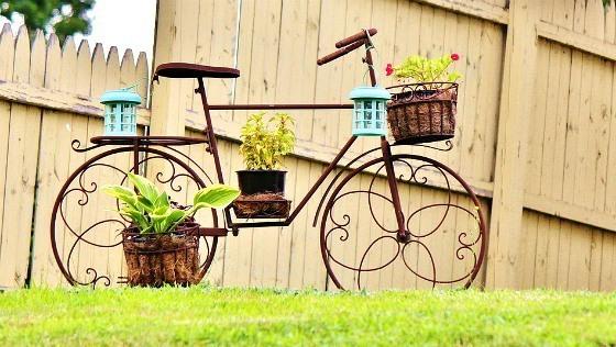 แปลงร่างจักรยานเก่าให้เป็นที่ปลูกดอกไม้สุดชิค รูปที่ 4