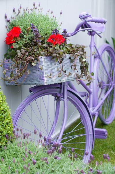 แปลงร่างจักรยานเก่าให้เป็นที่ปลูกดอกไม้สุดชิค รูปที่ 12