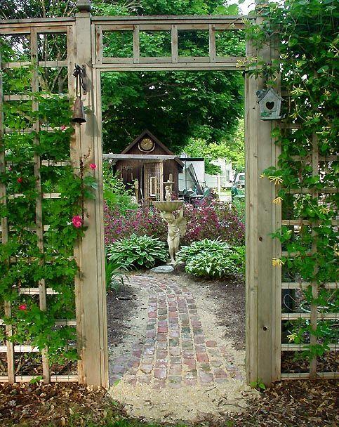 ชวนแต่งสวนสไตล์วินเทจด้วยซุ้มประตู รูปที่ 16