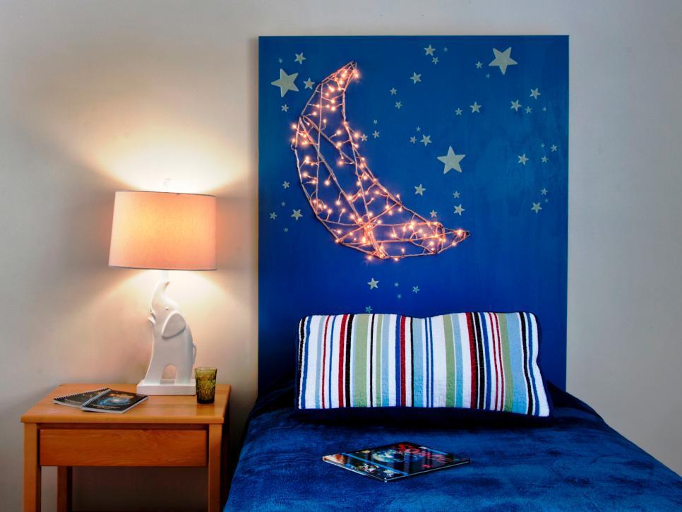 20 ไอเดียการตกแต่งหัวเตียงแบบ D.I.Y เพื่อให้ความสวยงามแก่ห้องนอน รูปที่ 13