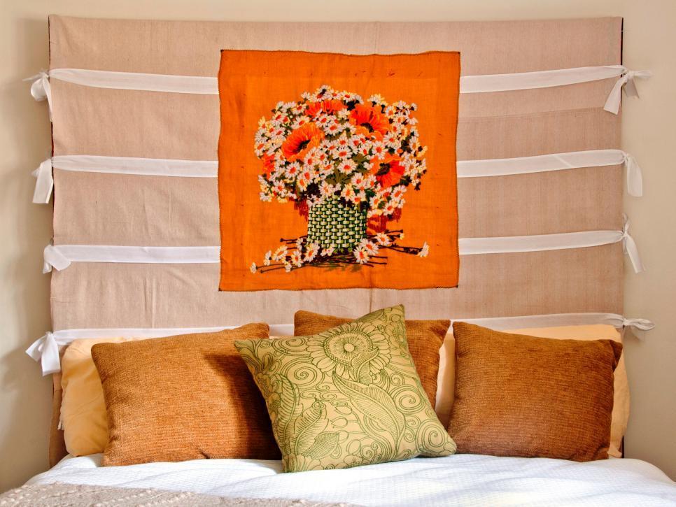 20 ไอเดียการตกแต่งหัวเตียงแบบ D.I.Y เพื่อให้ความสวยงามแก่ห้องนอน รูปที่ 15
