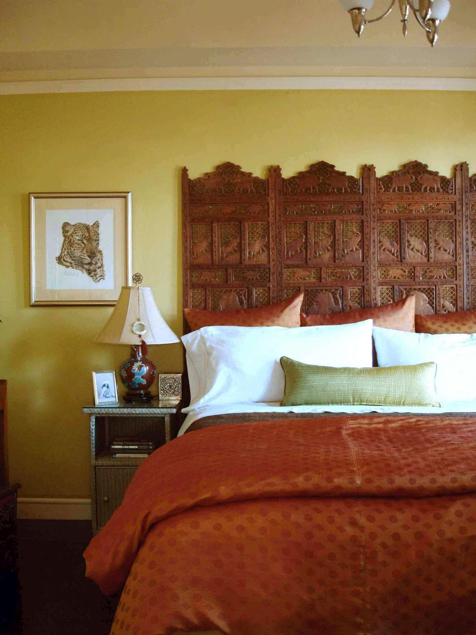 20 ไอเดียการตกแต่งหัวเตียงแบบ D.I.Y เพื่อให้ความสวยงามแก่ห้องนอน รูปที่ 17