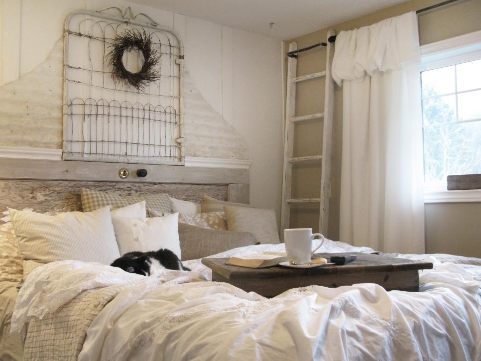 20 ไอเดียการตกแต่งหัวเตียงแบบ D.I.Y เพื่อให้ความสวยงามแก่ห้องนอน รูปที่ 18