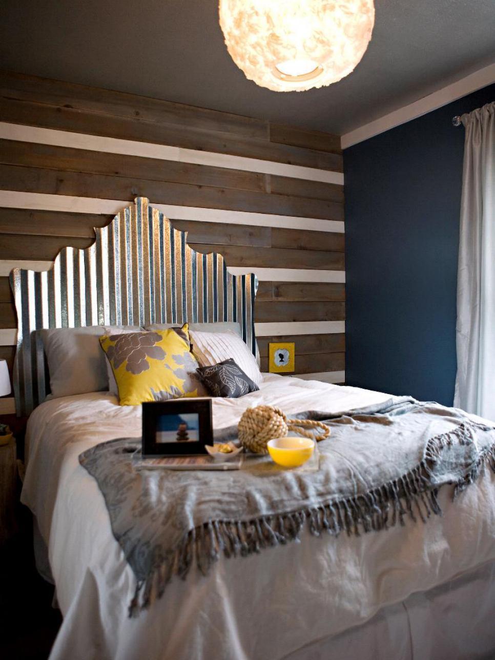 20 ไอเดียการตกแต่งหัวเตียงแบบ D.I.Y เพื่อให้ความสวยงามแก่ห้องนอน รูปที่ 19