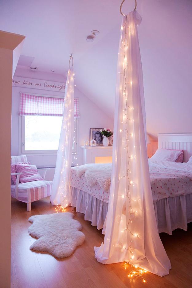 20 ไอเดียการตกแต่งห้องนอนแบบ D.I.Y สวยด้วยไอเดียส่วนตัว รูปที่ 16