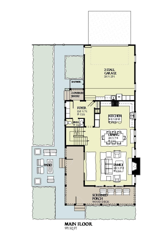 บ้านสวย 3 ชั้น สไตล์คอทเทจ สวยหรูหราอลังการ    รูปที่ 15
