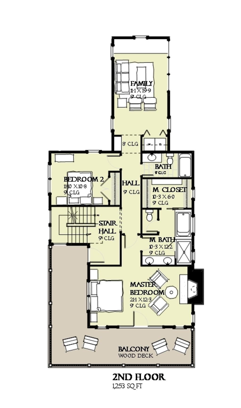 บ้านสวย 3 ชั้น สไตล์คอทเทจ สวยหรูหราอลังการ    รูปที่ 16