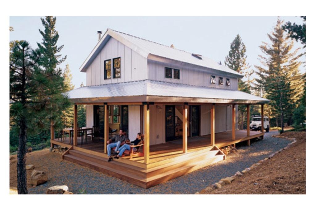 เพลิดเพลินไปกับบ้านรักษ์ธรรมชาติ จากการออกแบบของ DAVID WRIGHT รูปที่ 2