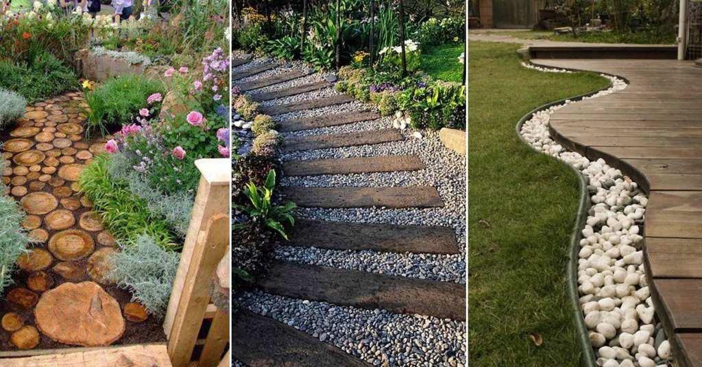 ตกแต่งทางเดินในสวนให้สวยได้ด้วยตัวเอง