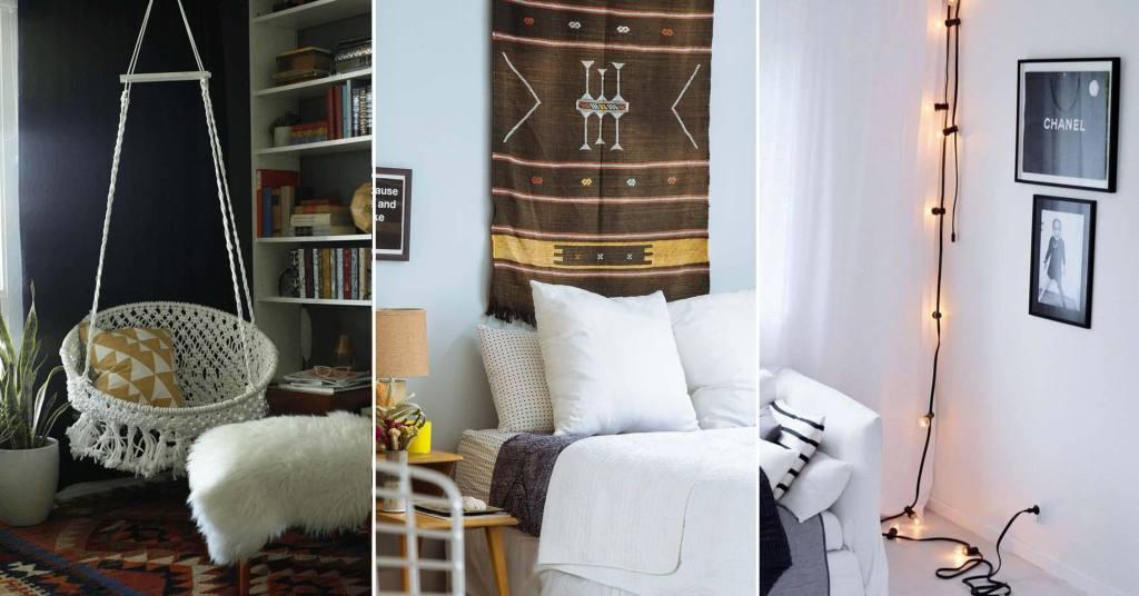 20 ไอเดียตกแต่งห้องนอนได้อย่างง่าย ๆ ตามแบบ D.I.Y