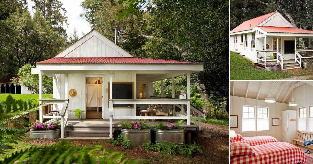 The Farmhouse style บ้านสวนขนาดเล็ก โดดเด่นด้วยดีไซน์จาก RICHARDSON ARCHITECTS