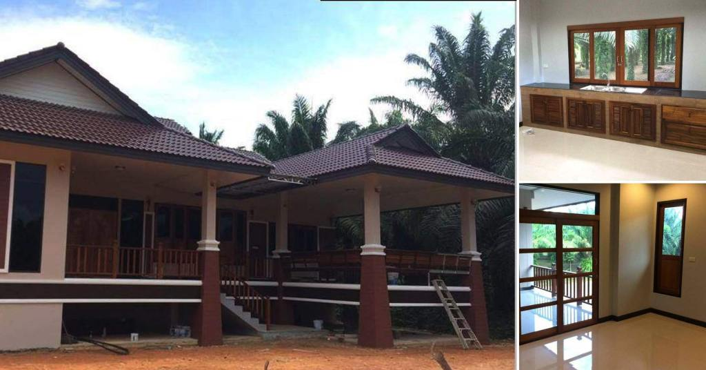 บ้านทรงไทยประยุกด์ ในดีไซน์เรียบง่าย เหมาะกับการพักผ่อน ในงบเริ่มต้น 1,800,000 บาท