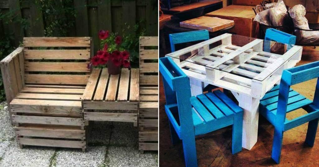 21 ไอเดีย DIY พาเลตไม้สำหรับตกแต่งบ้านใช้งานได้จริง
