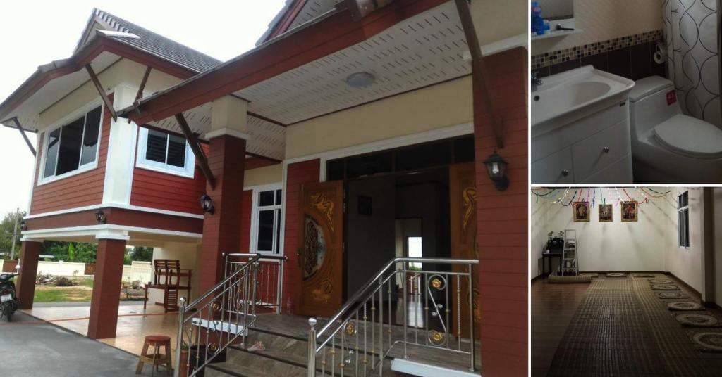 บ้านชั้นเดียวเล่นระดับทรงไทยประยุกต์ 3 ห้องนอน 2 ห้องน้ำ ในงบเริ่มต้น1,650,000 บาท