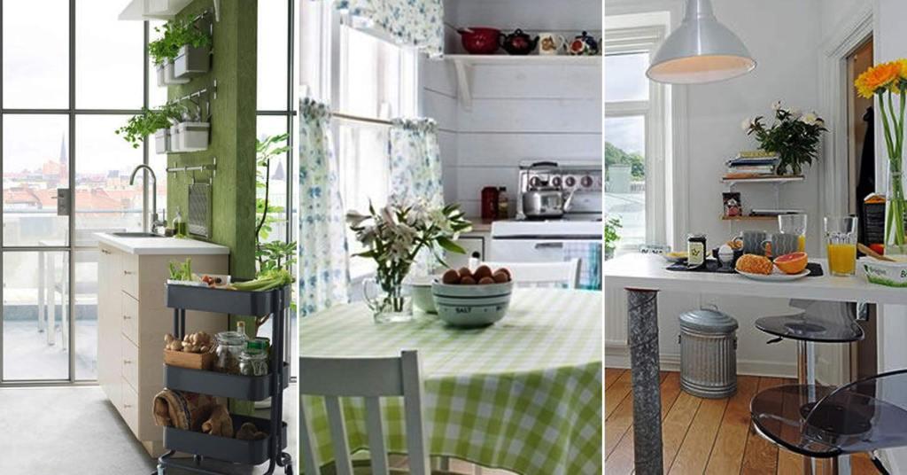 ไอเดียแต่งห้องครัวให้สดชื่นเหมือนครัวในสวน