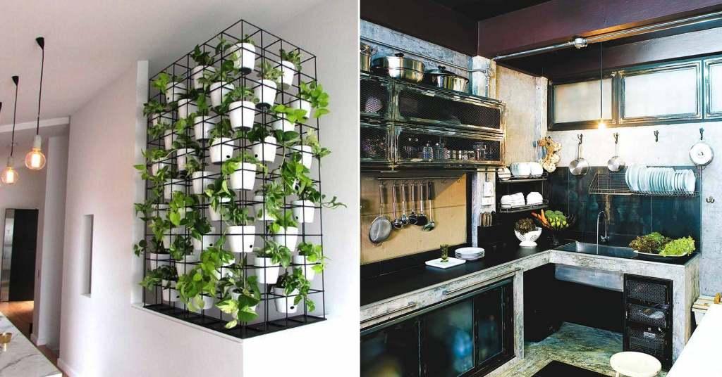 """""""จัดสวนในห้องครัว"""" เทรนด์ที่กำลังมาแรงเหมาะสำหรับพ่อบ้านยุคใหม่"""