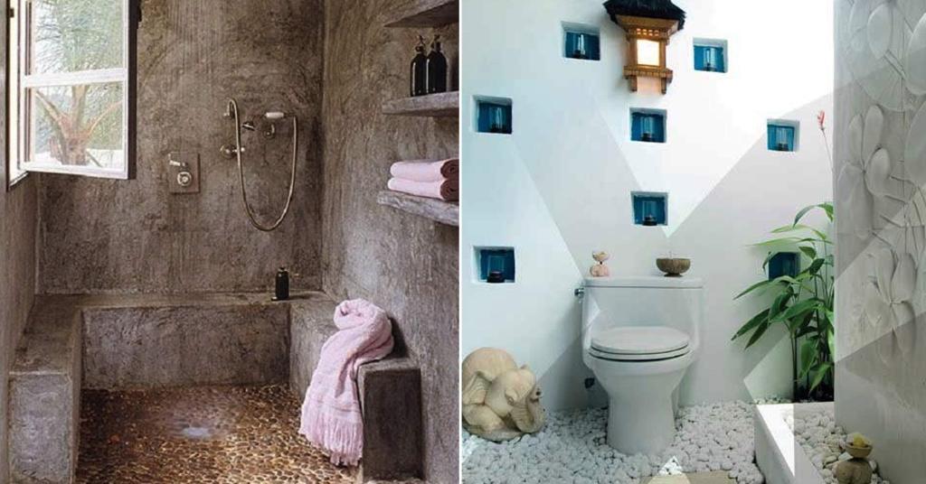 เปลี่ยนพื้นห้องน้ำสวยด้วยงาน DIY ที่คุณเองก็ทำได้ที่บ้าน