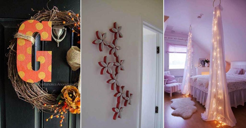 20 ไอเดีย D.I.Y ของตกแต่งบ้านสวยด้วยวิธีง่าย ๆ จากฝีมือของตัวเอง รูปที่ 1