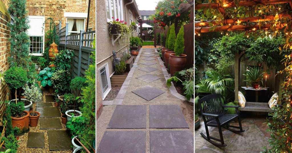 เนรมิตพื้นที่หลังบ้านให้เป็นสวนหย่อมเล็กๆ สำหรับวันพักผ่อน