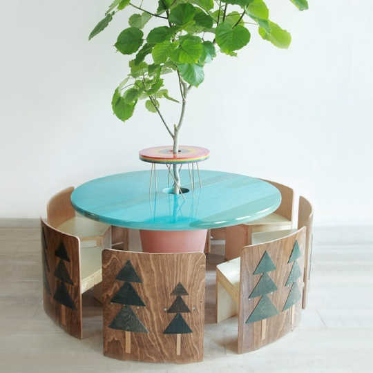 การนำต้นไม้ที่ชอบและเฟอร์นิเจอร์ที่ใช่มาตกแต่งห้องนั่งเล่นให้ปัง รูปที่ 6