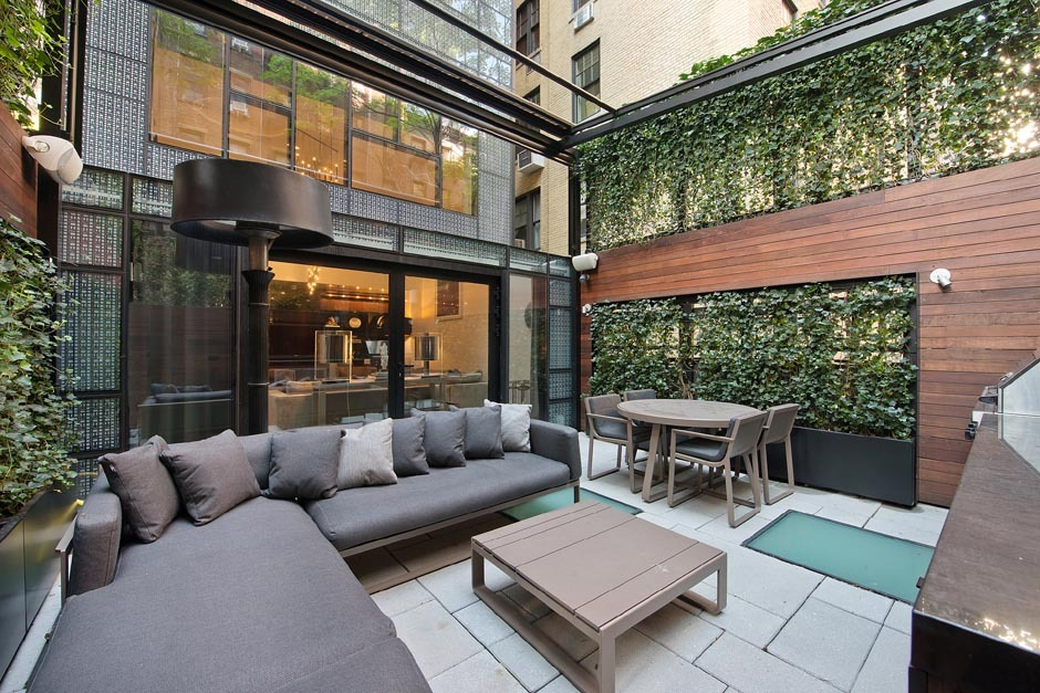 Outdoor Living Room โซนรับแขกแบบเปิดโล่ง รูปที่ 6