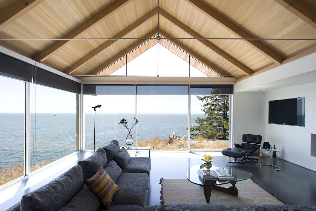 Outdoor Living Room โซนรับแขกแบบเปิดโล่ง รูปที่ 9