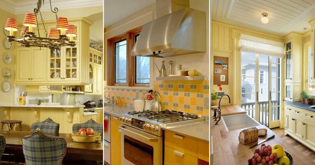 12 ไอเดียการแต่งห้องครัวสีเหลือง ที่ไม่ธรรมดา