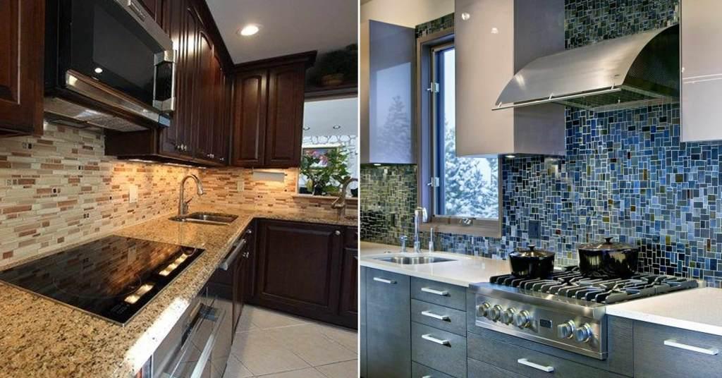 ไอเดียการเลือก Backsplash สำหรับห้องครัว