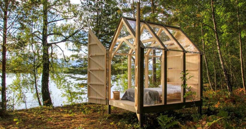 """ไปนอนชิลล์กลางป่ากับ """"72H Cabin"""" ห้องนอนเพื่อคนรักธรรมชาติ"""