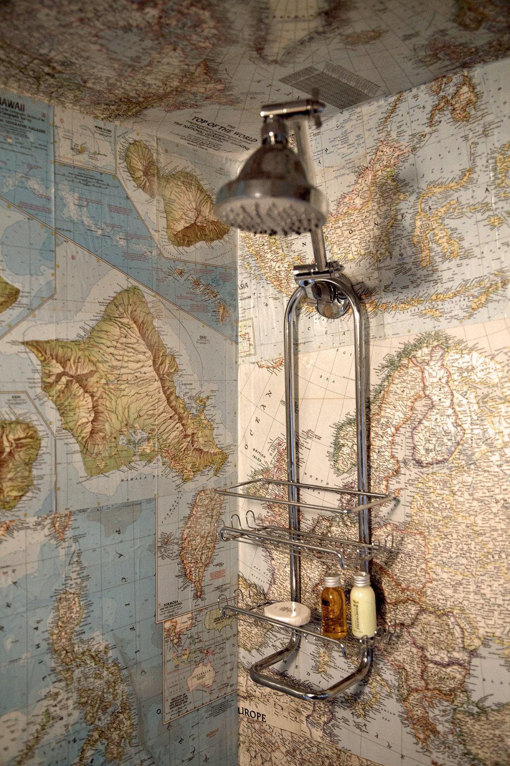 รวมหลากไอเดียแต่งห้องน้ำสุดบรรเจิด ด้วยสารพัดของสะสม รูปที่ 3