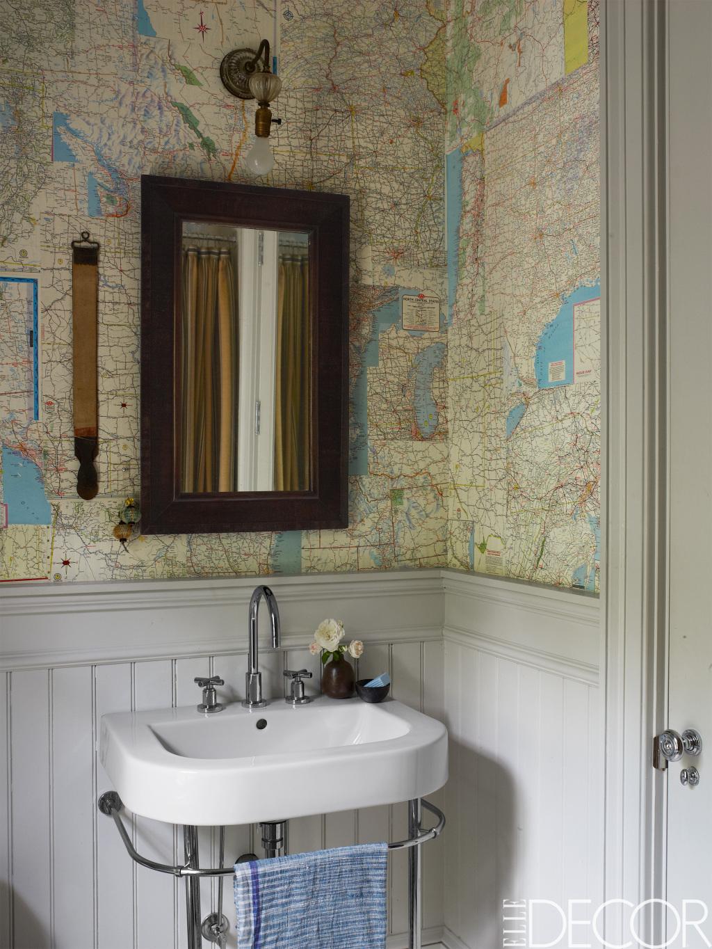 รวมหลากไอเดียแต่งห้องน้ำสุดบรรเจิด ด้วยสารพัดของสะสม รูปที่ 4