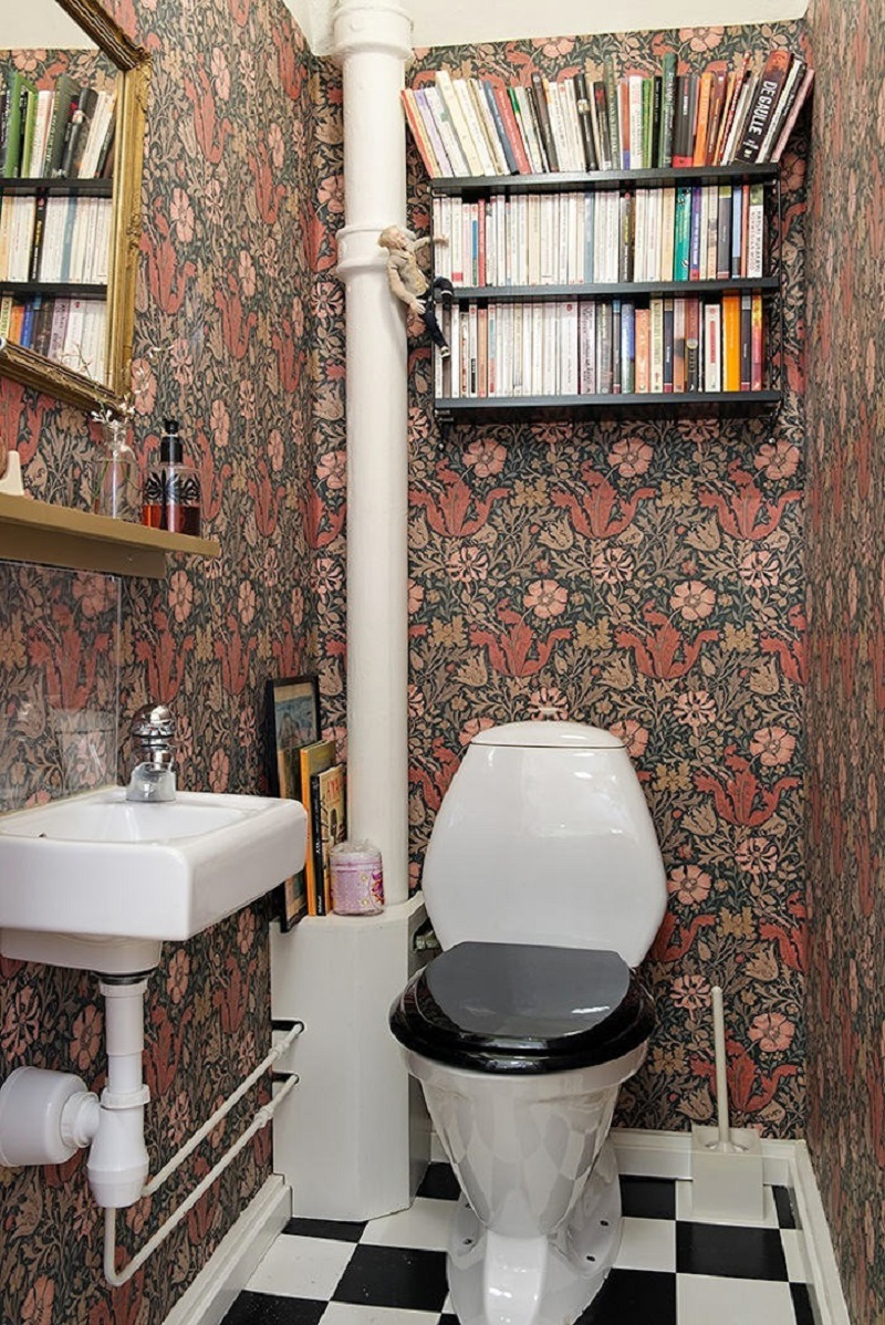 รวมหลากไอเดียแต่งห้องน้ำสุดบรรเจิด ด้วยสารพัดของสะสม รูปที่ 5