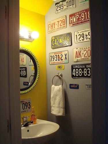 รวมหลากไอเดียแต่งห้องน้ำสุดบรรเจิด ด้วยสารพัดของสะสม รูปที่ 7