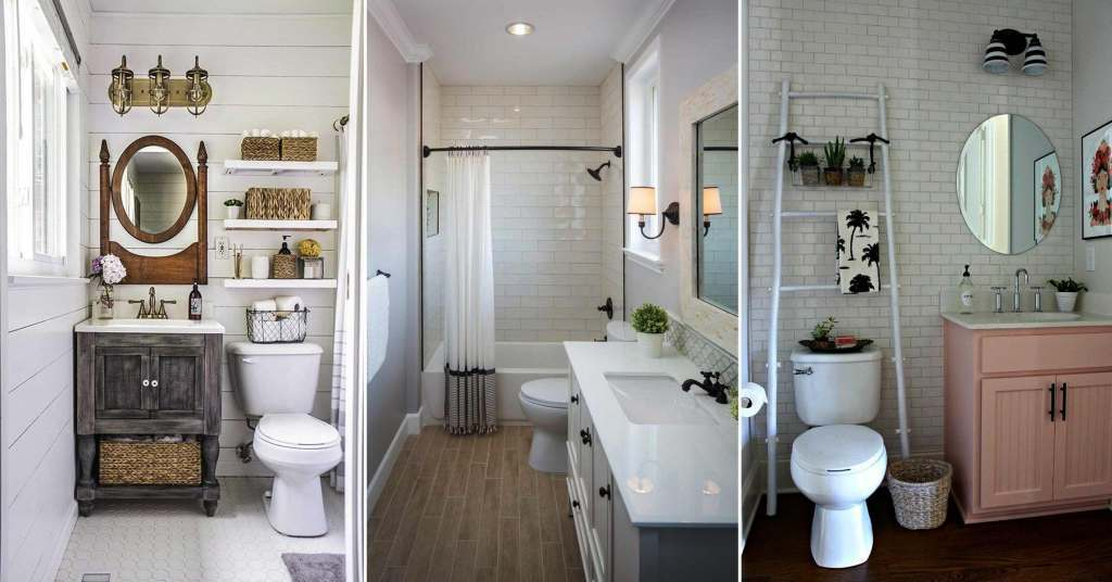 19 ไอเดียตกแต่งห้องน้ำขนาดเล็กให้น่ารักและน่าใช้