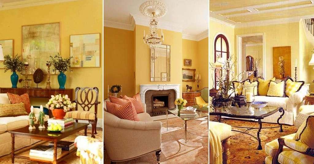 20 ไอเดียห้องนั่งเล่นสีเหลือง แปลกตาและโดดเด่นไม่ซ้ำใคร